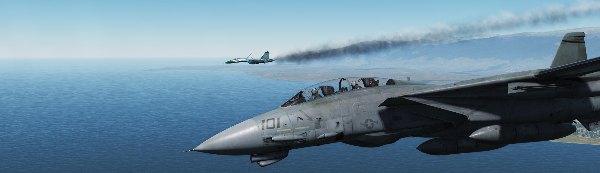 Dogfight En F-14B
